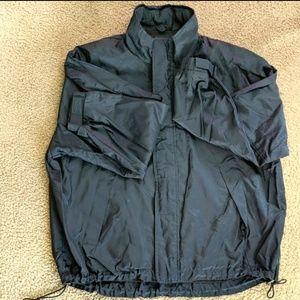 J. Crew blue windbreaker Rain light jacket
